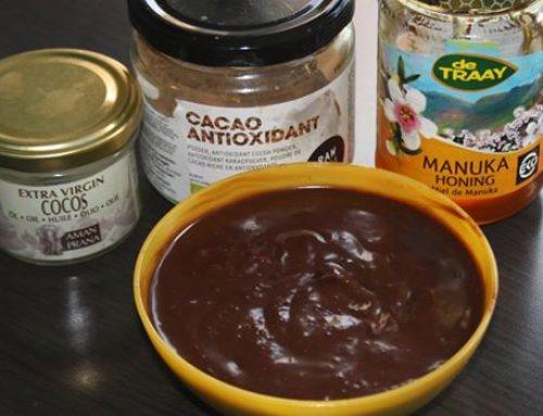 Geneeskrachtige chocoladepasta