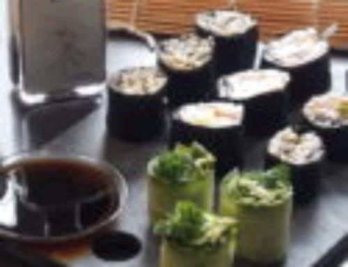 Sushi op 3 manieren