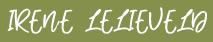 Persoonlijke voeding Irene Lelieveld Logo